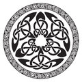 Round Celtic Design