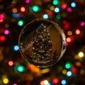 Round Christmas decoration