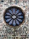 Round church window