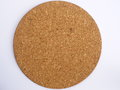 Round cork board Royalty Free Stock Photo