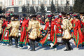 Round dance at Shrovetide Royalty Free Stock Photos