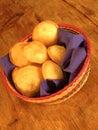 Round empanadas from mexico Stock Photos