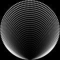 Round gray beads
