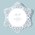 Round lace doily