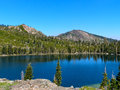 Round lake lakes basin region of the northern sierra nevada mountains Royalty Free Stock Photo