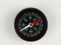 Round magnetic compass