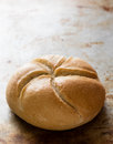 Round sandwich bun Royalty Free Stock Photo