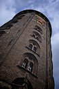 Round tower in copenhagen old historic denmark Stock Photography