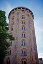 Round tower in copenhagen old historic denmark Royalty Free Stock Image