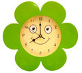 Round toy clock Stock Images