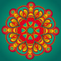 Round vector ornament this is file of eps format Royalty Free Stock Photography