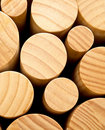 Round wood Royalty Free Stock Image