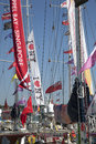 Round the World Yacht Race Royalty Free Stock Photo