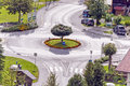 Roundabout Royalty Free Stock Photo