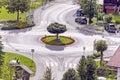 Roundabout Royalty Free Stock Photo
