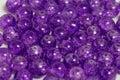 Rounded purple quartz stones Royalty Free Stock Photo