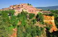 Roussillon,France Royalty Free Stock Photo