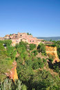 Roussillon,France Stock Photography