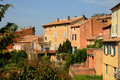Roussillon in Provence Stock Photography