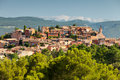 Roussillon village in Provence, France Royalty Free Stock Photo