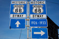 Route 66 Royalty Free Stock Photo