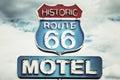 Route 66 USA Royalty Free Stock Photo