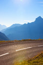 Route d alpes Image stock