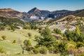 Route de la corniche sublime provence france view from near gorges du verdon canyon alpes haute Stock Photography