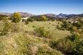 Route de la corniche sublime provence france view from near gorges du verdon canyon alpes haute Stock Images