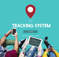 Route Map Navigation Track Places Concept Royalty Free Stock Photo