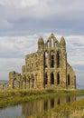 Rovine dell'abbazia Immagine Stock