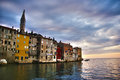 Rovinj beautiful view in croatia Royalty Free Stock Photo