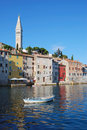 Rovinj in Croatia Stock Image