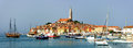 Rovinj historical center of croatia Stock Images