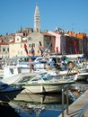 Rovinj a little town in croatia at the adriatic sea Royalty Free Stock Photography