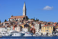 Rovinj old town Stock Images