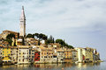 Rovinj old town of croatia Stock Image