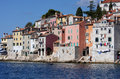 Rovinj old town istria region croatia Royalty Free Stock Photography
