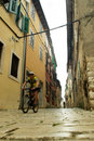 Rovinj Street Royalty Free Stock Photo