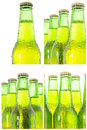 Row of beer bottles see my other works in portfolio Stock Photos