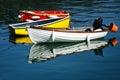 Row-boats Royalty Free Stock Photo