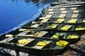 Row of Boats Royalty Free Stock Photo