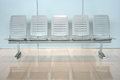 Row of chair in office building Royalty Free Stock Photography