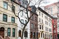 Row of old buildings in the Upper West Side,  New York City Royalty Free Stock Photo