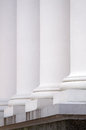 Row of columns. Royalty Free Stock Photo