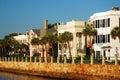 Row Homes, Charleston Royalty Free Stock Photo