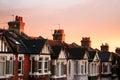 Row Houses Royalty Free Stock Photo