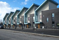Picture : Row of Modern Houses big residential