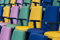 Row of Seats Royalty Free Stock Images
