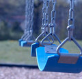 Row of Swings Royalty Free Stock Photos